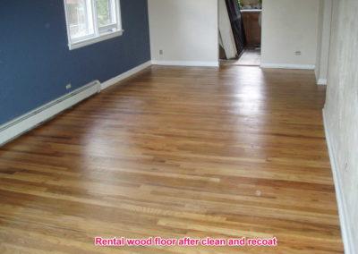 Rental wood after